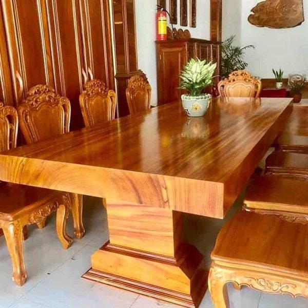 Báo giá bàn ăn gỗ cho ngôi nhà nhỏ bé của bạn